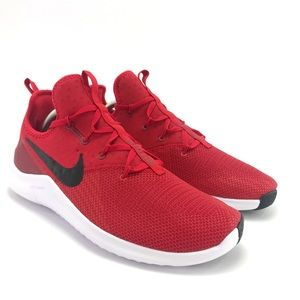 Nike Men's Free TR 8 Red Black White Running Shoes